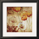Poppy Heat I Art by Tandi Venter