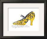 Yellow Pattern Shoe, c.1955 Posters by Andy Warhol