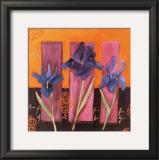3 Iris Prints by Loetitia Pillault