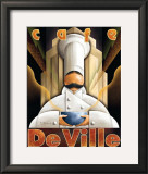 Cafe de Ville Poster by Michael L. Kungl