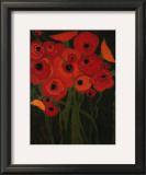 Wild Poppies Print by Karen Tusinski