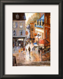 The Petit-Champlain Quarter Prints by Ginette Racette