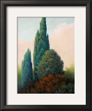 Tuscan Trees I Posters by Alan Stephenson