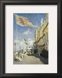 Hotel des Roches Noires, Trouville.  1870 Posters by Claude Monet