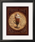 French Coffee Prints by Gregory Gorham