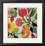 Floral Tile III Poster by Kim Parker
