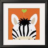 Peek-a-Boo XII, Zebra Prints by Yuko Lau