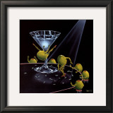 Even Dirtier Martini Prints by Michael Godard
