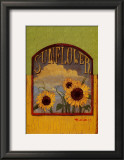 Three Sunflowers Prints by Thomas LaDuke