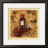 Glass of Merlot Posters by Charlene Winter Olson