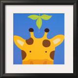 Peek-a-Boo VII, Giraffe Prints by Yuko Lau