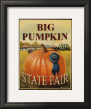 Big Pumpkin Posters by Catherine Jones