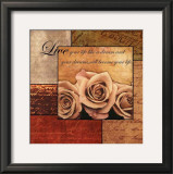 Romantic Roses Posters by Anne Courtland