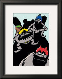The Three Bandit Brothers Print by Ryo Takagi