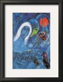 El Campo de Marte Lámina por Marc Chagall