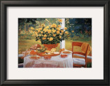 The Breakfast Print by Liliane Fournier