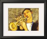 Trumpet Art by Marsha Hammel