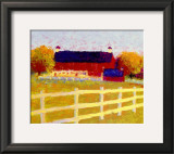 The Farm Print by Gail Wells-Hess