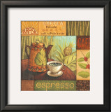 Pause Cafe II Print by Delphine Corbin