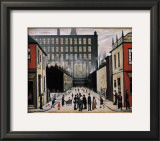 Street Scene Posters by Laurence Stephen Lowry