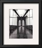 Brooklyn Bridge Print by Christopher Bliss