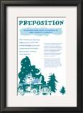 Preposition Prints
