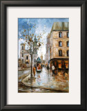 Buade Street, Quebec Prints by Ginette Racette