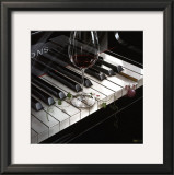 The Key to Wine Poster by Michael Godard