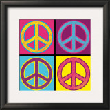 Peace in All Colors Prints by Louise Carey