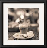 Caffe, Lucca Print by Alan Blaustein