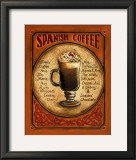 Spanish Coffee Prints by Gregory Gorham