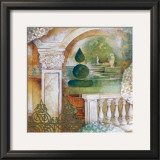 An Italian Garden I Posters by M. Patrizia