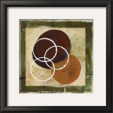 Circle and sphere cluster II Prints by Maria Girardi