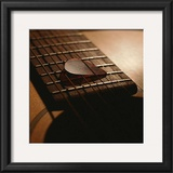 Guitar I Print by Steve Cole