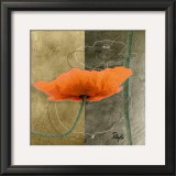 Orange Poppies VI Posters by Patty Q.