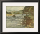 Salmon Fishing Print by Ernest Briggs