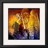 Jazzi IV Posters by Jean-François Dupuis