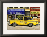 New York City Taxi, 46B2 Posters by Jennifer Goldberger