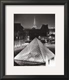 La Pyramide de Louvre Posters by Serge Sautereau