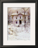 Victorian Winter, 1987 Art by Richard Schmid