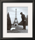 Champ de Mars, Paris Prints by Robert Doisneau