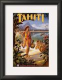 Tahiti Prints by Kerne Erickson