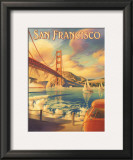San Francisco Prints by Kerne Erickson