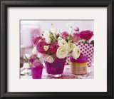 Table with Roses Print