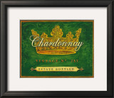 Chardonnay Vintage Posters by Angela Staehling