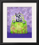 Schnauzer Handbag Prints by Carol Dillon