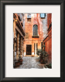 Venice Courtyard Prints by Maureen Love