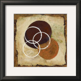 Circles of Time I Print by Maria Girardi