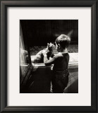 The Caretaker's Cat Print by Willy Ronis