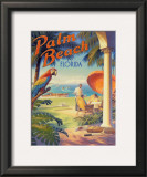 Palm Beach, Florida Art by Kerne Erickson